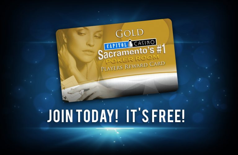 Capitol Casino Player's Reward Card
